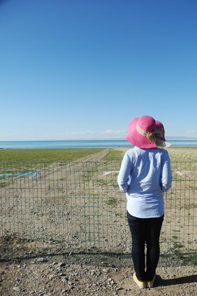 念出「青海湖」三个字都觉得阳光在嘴边